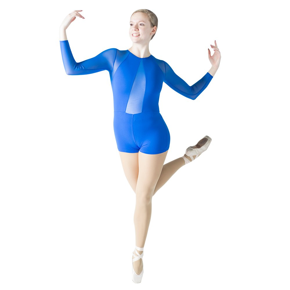 HDW DANCE SOCKSHOSIERY レディース B07HDCGJN1 ロイヤルブルー X-Large