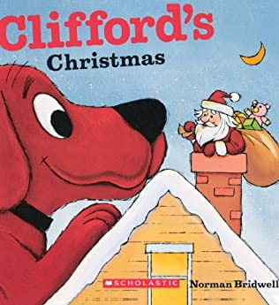 book cover of Clifford\'s Christmas
