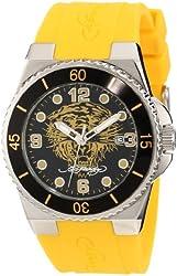 Ed Hardy Women's FU-YTG Fusion Yellow Watch