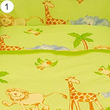 varios dise/ños dise/ño 10 Talla:Fits Crib 90x40 cm Baby Comfort S/ábanas de algod/ón para cunas 90/x 40/cm