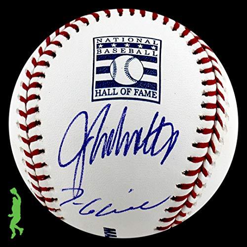 (John Smoltz Tom Glavine Autograph Signed Hall Of Fame Hof Baseball Ball Coa - JSA Certified - Autographed Baseballs)
