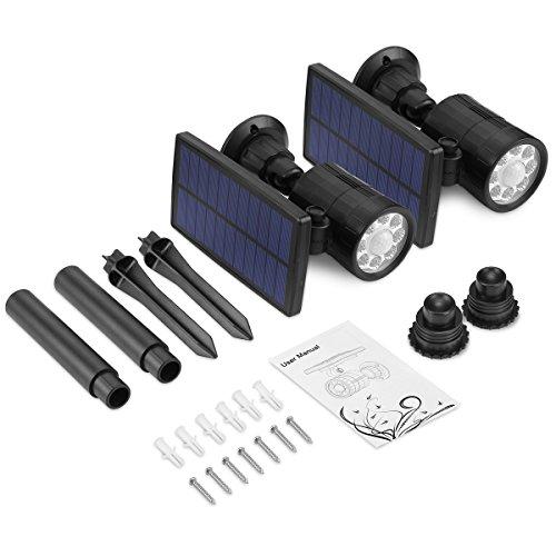 AMIR Solar Spotlight, Upgraded Motion Sensor Lights