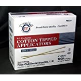 "Value-Pack 2,000 x 6"" (Inches) Cotton-Tipped Applicator / Cotton swab / Q-Tips"