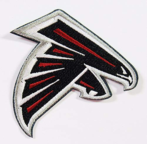 - NFL Atlanta Falcons Football Logo Patches Large Item 3 1/4
