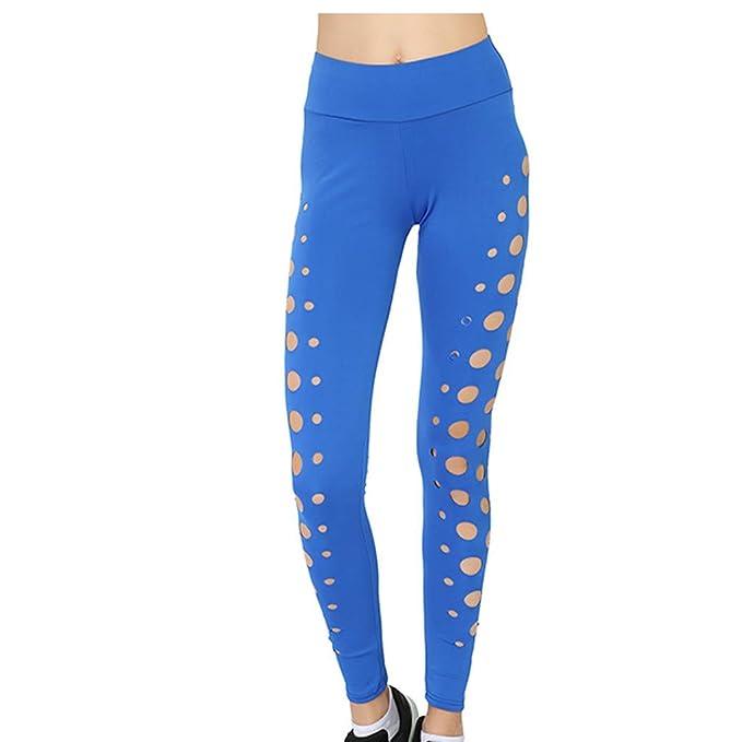 cinnamou Pantalones Mujer, Pantalones Deportivos De Yoga ...