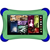 Visual Land Prestige Elite A7QLBP Quad Core 16GB Tablet with Bumper, Green (MEA7QLBP16GBGRN)