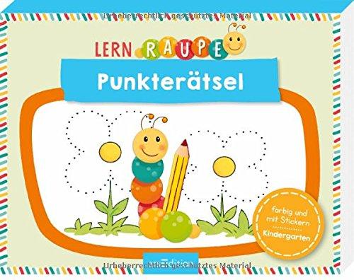Lernraupe - Punkterätsel (Kindergarten-Lernraupe)