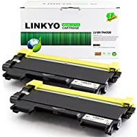 2-Pack LINKYO Valueline Replacement Brother TN450 Toner Cartridge