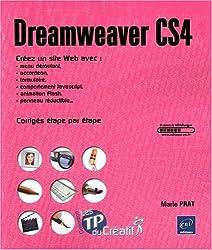 Dreamweaver CS4 - Créez un site Web avec menu déroulant, accordéon, formulaire, comportement Javascript