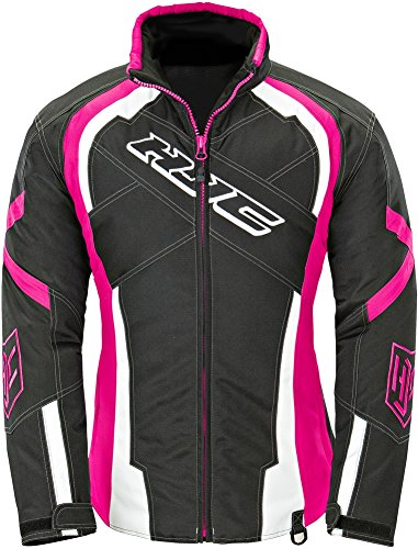 [HJC Storm - Womens' Snowmobile/Motorcycle Windproof Jacket - Pink - Small] (Snow Motorcycle Jackets)