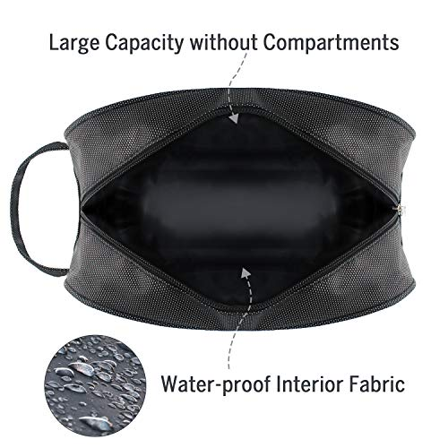Hanging Toiletry Bag – Portable Travel Bags for Men/Women, Shaving/Grooming/Cosmetic/Toiletries, 4 Sizes Shoes Organizer…