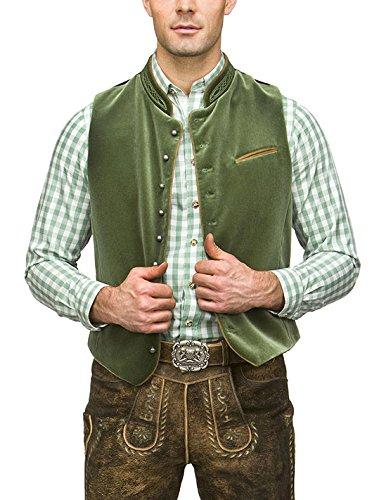 Verde Ricardo para Moosgrün Weste Hombre Chaleco Stockerpoint 5qPnXZwFn