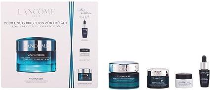 Lancôme Visionnaire Crema Hidratante + Activador de Juventud + Crema Contorno de Ojos + Gel en Aceite de Noche - 1 Pack: Amazon.es: Belleza