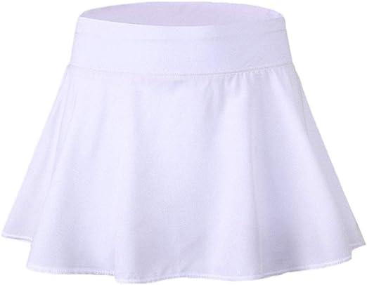 yangGradel Niña Mujer Falda Plisado Activo Skort Super Light Mujer ...