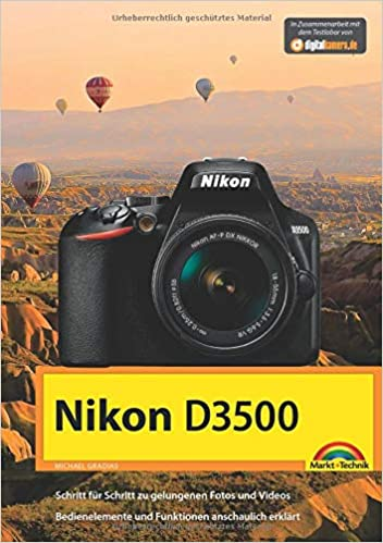 Nikon D3500 - Das Handbuch zur Kamera: Amazon.es: Michael Gradias ...