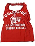 Gold Rush Outfitters - Baby Girls Ruffle Halter Top, Red 26007-6-12Months