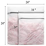 5Pcs Durable Honeycomb Mesh Laundry Bags for