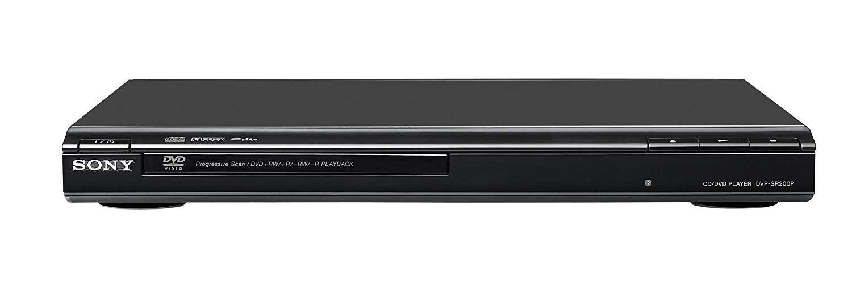 Sony DVP-SR200P/B DVD Player - Factory Refurbished
