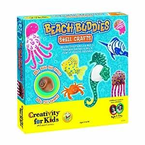 Creativity for Kids Beach Buddies Shell Crafts
