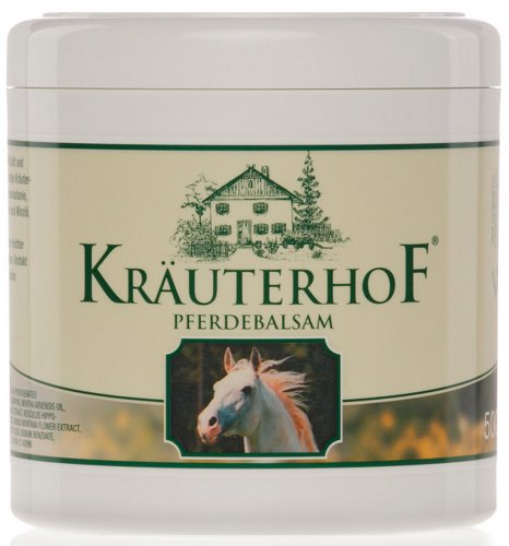 Krauterhof Topical Skin Gel Wild Chestnut with Arnica -To Help Ease Aching  Muscles & Joints, Muscle Cramps & Spasms, Bruising & Strains - 250 ml