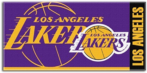 NBA Los Angeles Lakers 34'' x 70 Colossal Pool Beach Towel by Northwest by The Northwest Company