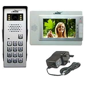 Amazon Com 7 Quot Color Video Intercom Door Phone With