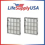LifeSupplyUSA 2 True HEPA Replacement Filter Designed To Fit Winix 119110 Size 21 Review
