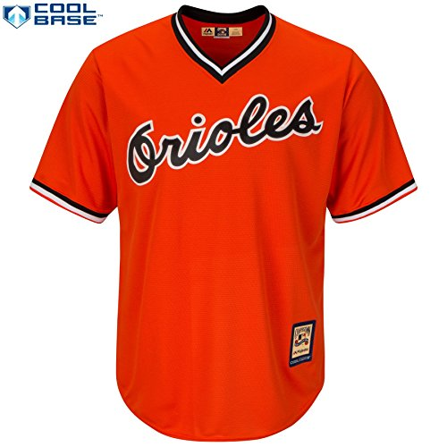 (Majestic Baltimore Orioles MLB Youth Cool Base Cooperstown Pullover Jersey (Youth Small 8))