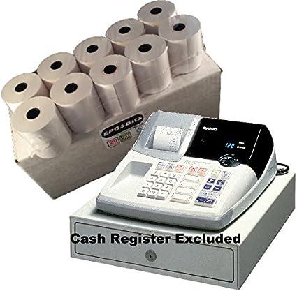 eposbits® marca 20 rollos – 1 caja para Casio 120 CR 120 CR caja ...