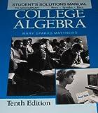 College Algebra 9780070517448