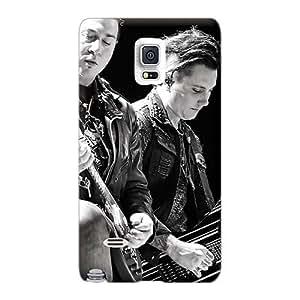 CristinaKlengenberg Samsung Galaxy Note 4 High Quality Hard Phone Cover Custom Realistic Avenged Sevenfold Band A7X Series [sAJ20373TcPs]