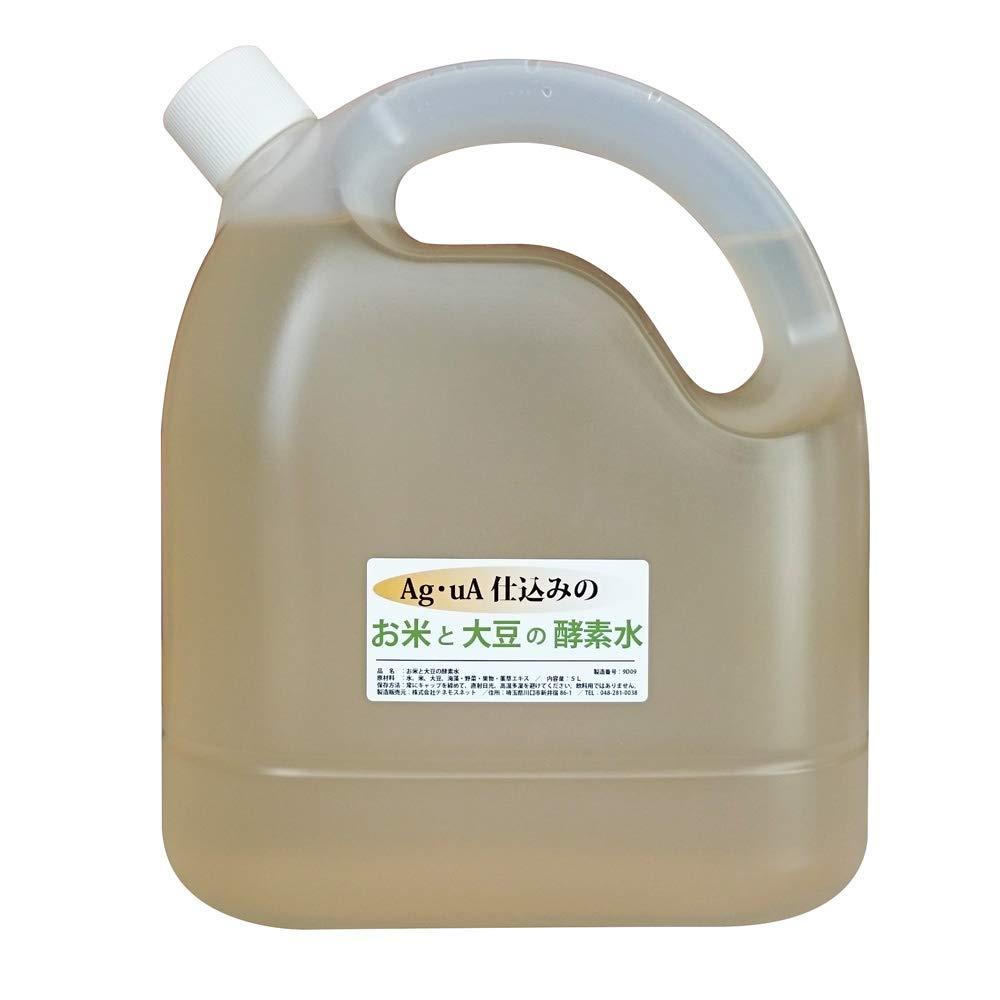 テネモス アグア仕込みのお米と大豆の酵素水 5リットル B07R8K29ZC