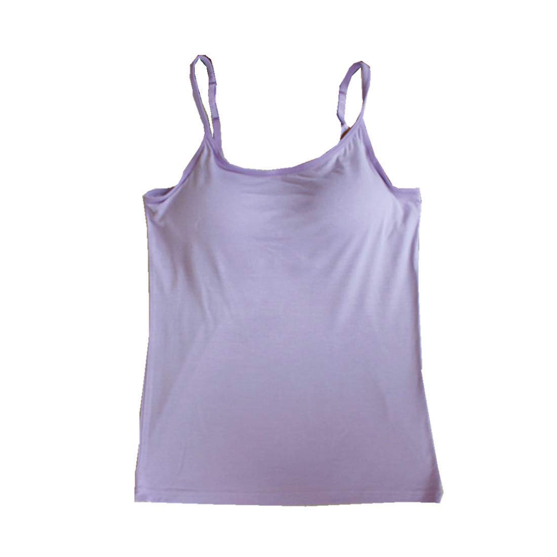 BIFINI Womens Adjustable Padded Bra Camisole Top Sleeveless T-Shirt Colors