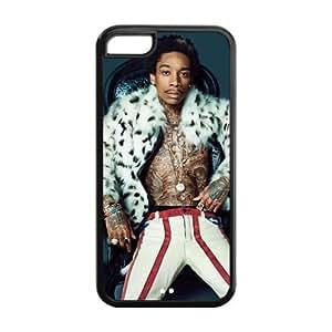 customized wiz khalifa for Iphone 5C case 5C-brandy-140093