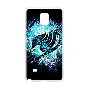 Blue shiny Fairy Tail Cell Phone Case for Samsung Galaxy Note4