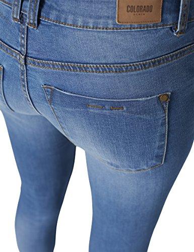 Blue night Donna Denim Jeans 832 Colorado Blu fAdHHw