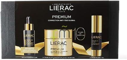 Lierac - Estuche de regalo crema antiedad premiun voluptuosa: Amazon.es: Belleza
