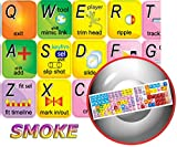 NEW AUTODESK SMOKE KEYBOARD STICKER FOR NOTEBOOK, LAPTOP AND DESKTOP