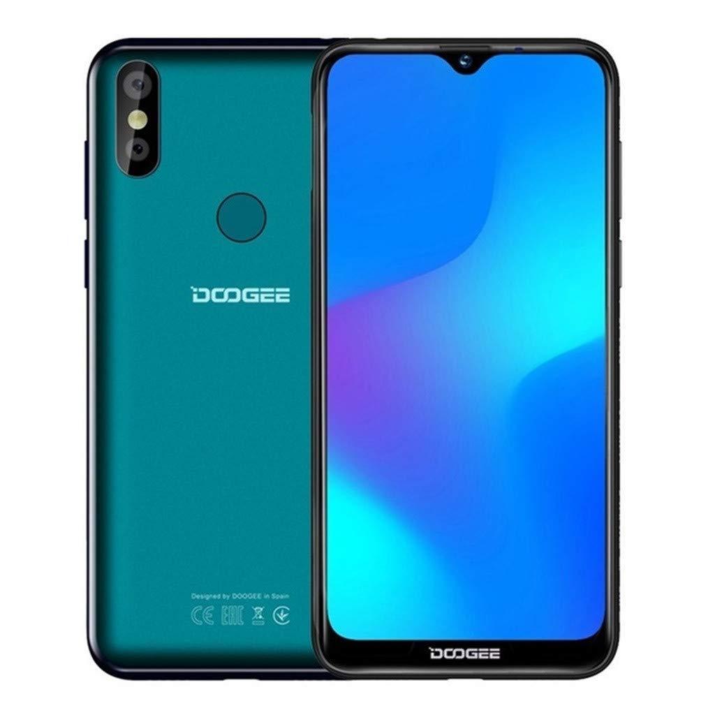 Finedayqi ❤ 2019 DOOGEE Y8 3GB+16GB Unlock Smartphone Android 9.0 4G LTE 6.1 FHD 19:9 3400mA (Green)