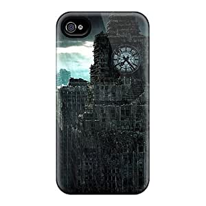 High Quality Henrydwd Dark City Skin Case Cover Specially Designed For Iphone - 4/4s