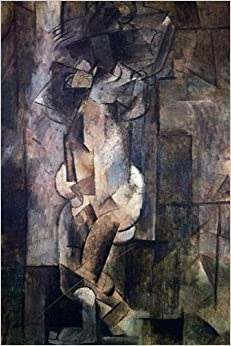 Nude Figure 1910 (Pablo Picasso), For the Love of Art: Blank 150 page lined journal for your thoughts, ideas, and inspiration