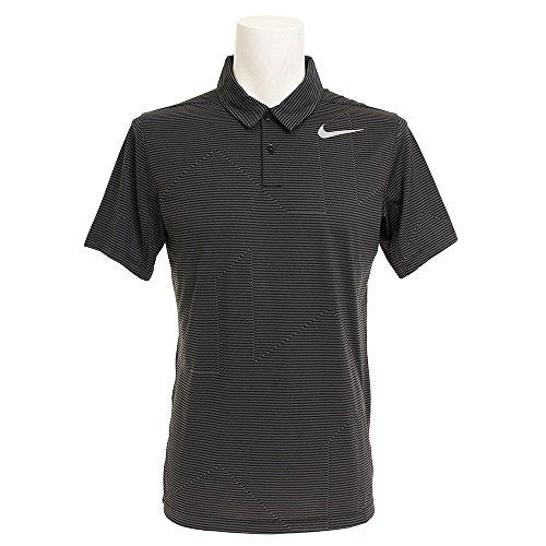 ナイキ ゴルフ ポロシャツ モビリティジャガード半袖ポロ 833106-010 ブラック M