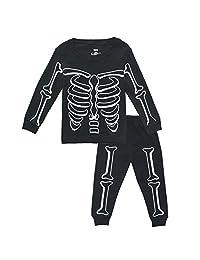 KISBINI Toddler Boys Pajama Pj Set Pjs Jammies for Halloween Xmas