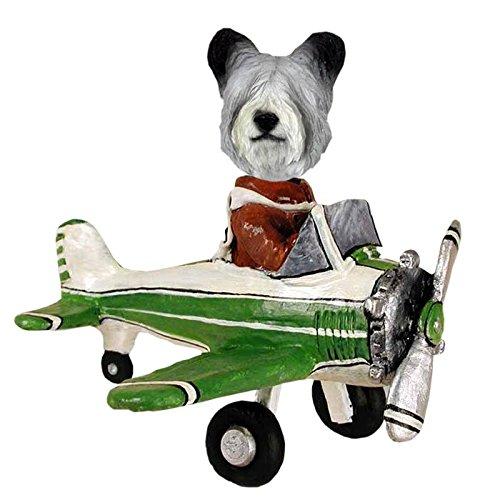 (Skye Terrier Airplane Doogie Collectible Figurine)