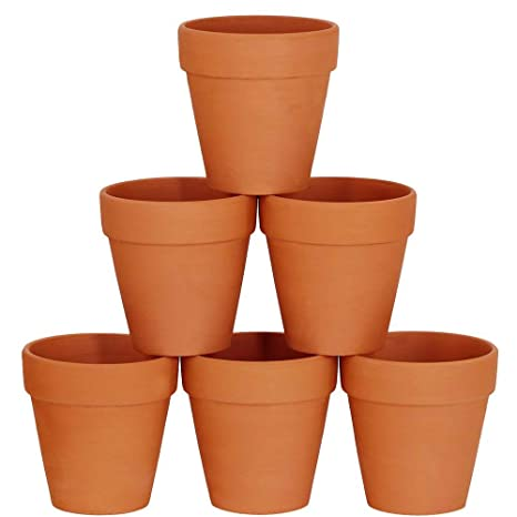 Winlyn 6 Pcs Large Terracotta Pot Clay Pots 5\u0027\u0027 Clay Ceramic Pottery Planter Cactus  sc 1 st  Amazon.com & Amazon.com: Winlyn 6 Pcs Large Terracotta Pot Clay Pots 5\u0027\u0027 Clay ...