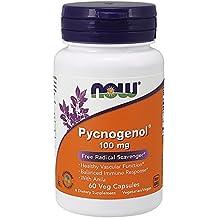 NOW Pycnogenol 100mg, 60 Veg Capsules