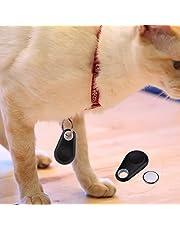 Tiowea Tracer GPS Locator Tag Smart Bluetooth Alarma Billetera Llave Perro Mascota Tracker Mandos a Distancia (Black)