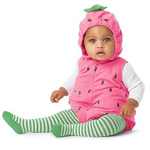 [Carter's Little Strawberry Halloween Costume-6-9 Months] (Strawberry Halloween Costumes)