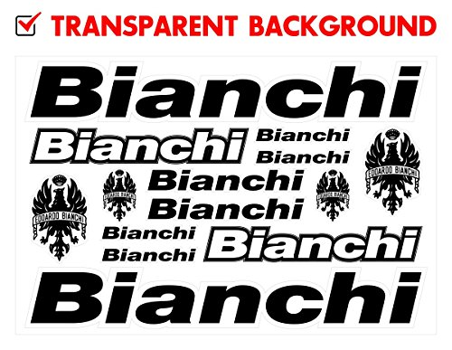 Bianchi Decals Stickers Bicycle Frame Replacement Graphic Set #1