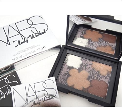 Nars Andy Warhol Eyeshadow Palette Flowers 3 9981 NEW IN BOX .45 oz / 13 g IN A BOX